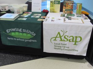 ASAP and Growing Minds, sponsors of Farm to School Conference